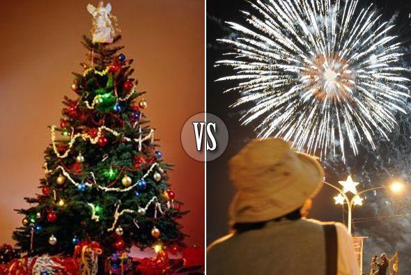 ¿Navidad o Año Nuevo?