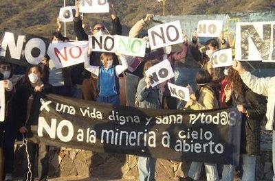 Resistencia catamarqueña a la explotación minera