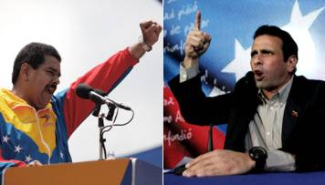 Maduro aventaja en 18 puntos a candidato opositor