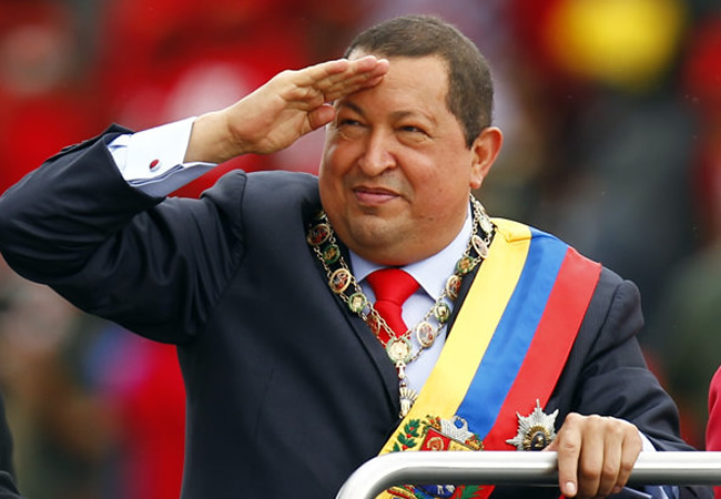 Chávez dividía opiniones en Córdoba