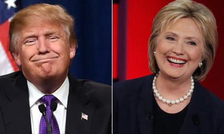 Hillary le saca 5 puntos a Trump