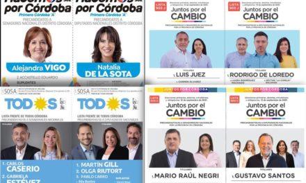 A casi un mes de las PASO: qué dicen las últimas encuestas en Córdoba